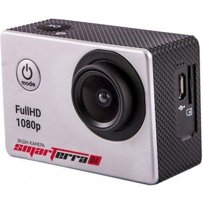 Экшн камера Smarterra B4 серебристый (BSB4SL) экшн камера smarterra w4 желтый spw40616