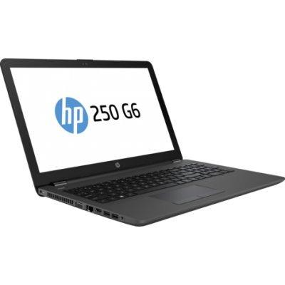 Ноутбук HP 250 G6 (1XN78EA) (1XN78EA)Ноутбуки HP<br>HP 250 G6 DSC 520 2GB i3-6006U 250 G6 / 15.6 HD SVA AG / 4GB 1D DDR4 / 500GB 5400 / W10p64 / DVD-Writer / 1yw / Jet kbd TP / Intel 3168 AC 1x1+BT 4.2 / Dark Ash Silver with VGA Web<br>