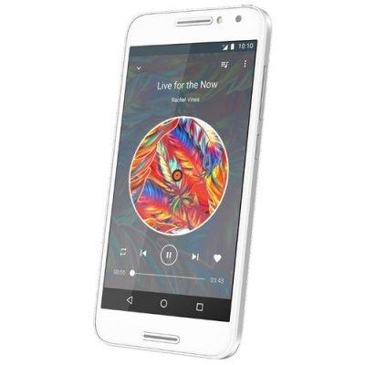 Смартфон Alcatel A3 5046D 16Gb белый (5046D-2DALRU1) смартфон alcatel a3 ds pure white 5046d