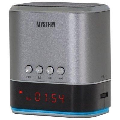 Портативная акустика Mystery MSP-127 серебристый (MSP-127 SILVER) портативная акустика с воспроизведением с usb