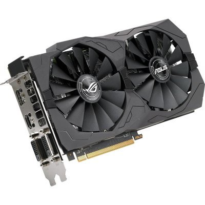 Видеокарта ПК ASUS ROG-STRIX-RX570-O4G-GAMING (ROG-STRIX-RX570-O4G-GAMING) computer vga gpu cooler rog strix rx470 dual rx480 graphics card fan for asus rog strix rx470 o4g gaming video cards cooling