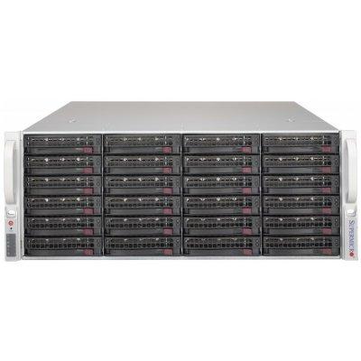 Корпус серверный SuperMicro CSE-846BE2C-R1K03JBOD (CSE-846BE2C-R1K03JBOD) корпус серверный supermicro cse 815tqc r706wb черный cse 815tqc r706wb