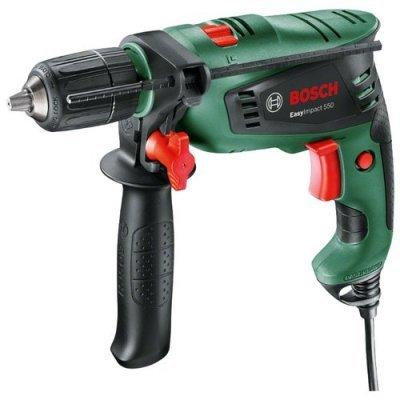 Дрель Bosch EasyImpact 550 (603130020) дрель электрическая bosch psb 500 re 0603127020 ударная