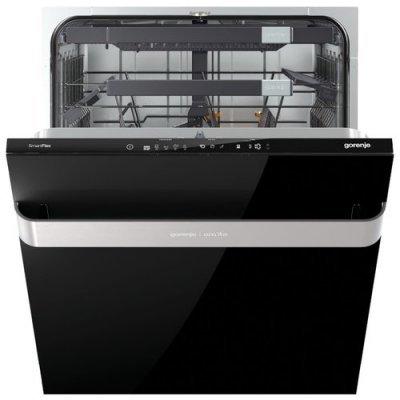 Посудомоечная машина Gorenje GV60ORAB черный (GV60ORAB)Посудомоечные машины Gorenje<br>напольная посудомоечная машина 59.60 см<br>встраиваемая частично<br>конденсационная сушка<br>расход воды 9.5 л<br>расход электричества 0.86 кВт·ч<br>дисплей<br>уровень шума при работе 45 дБ<br>полная защита от протечек<br>