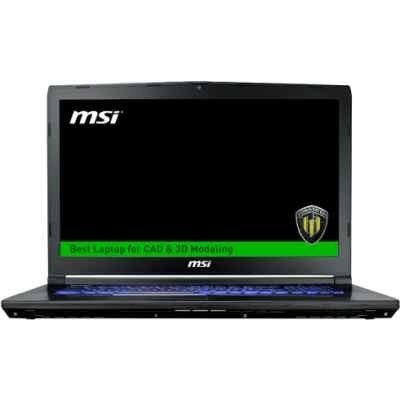 Ноутбук MSI WE72 7RJ-1067RU (9S7-179577-1067) (9S7-179577-1067) ноутбук msi gs43vr 7re 201ru 9s7 14a332 201 9s7 14a332 201