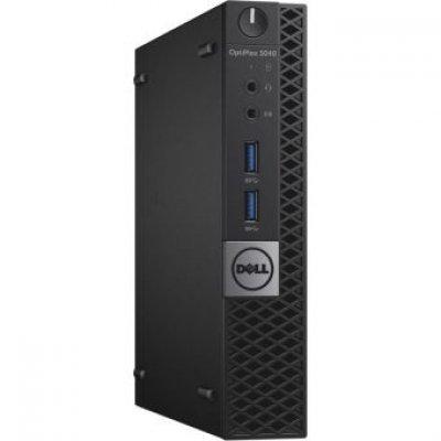 Настольный ПК Dell Optiplex 3050 (3050-0443) (3050-0443)Настольные ПК Dell<br>DELL Optiplex 3050 Micro,Pentium G4560T (2,9GHz),4GB (1x4GB) DDR4,500GB (7200 rpm),Intel HD 610,W10 Pro,TPM,1 years NBD<br>