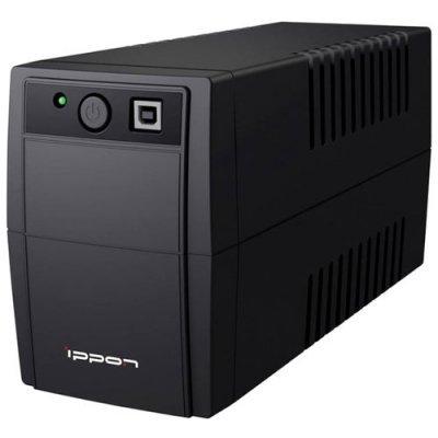 Источник бесперебойного питания Ippon Back Basic 850 (403406)Источники бесперебойного питания Ippon<br>интерактивный ИБП<br>1-фазное входное напряжение<br>выходная мощность 850 ВА / 480 Вт<br>выходных разъемов: 2<br>разъемов с питанием от батареи: 2<br>интерфейсы: USB<br>время зарядки 6 ч<br>