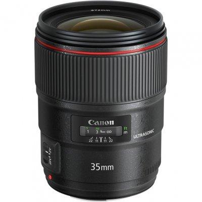 Объектив для фотоаппарата Canon EF II USM (9523B005) 35мм f/1.4L (9523B005) canon ef 11 24mm f 4l usm