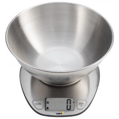 Весы кухонные Unit UBS-2153 (CE-0312641) unit ubs 2153 steel весы кухонные