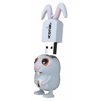 USB накопитель ICONIK RB-RABi-8GB (RB-RABi-8GB) флешка usb 8gb iconik овечка rb sheepi 8gb
