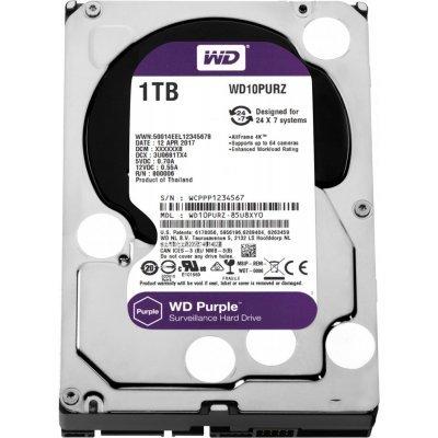 Жесткий диск серверный Western Digital WD10PURZ 1Tb (WD10PURZ) жесткий диск 4tb western digital purple wd40purx