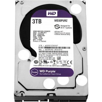 Жесткий диск серверный Western Digital WD30PURZ 3Tb (WD30PURZ) жесткий диск 4tb western digital purple wd40purx