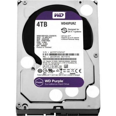 Жесткий диск серверный Western Digital WD40PURZ 4Tb (WD40PURZ) жесткий диск 4tb western digital purple wd40purx