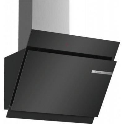 Вытяжка Bosch DWK67JM60 (DWK67JM60)Вытяжки Bosch<br>Вытяжка BOSCH/ Наклонная, 730м3/ч, 60см, цвет: черный<br>