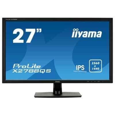 Монитор IIYAMA 27 X2788QS-B1 (X2788QS-B1) монитор iiyama 27 xb2783hsu b1 xb2783hsu b1