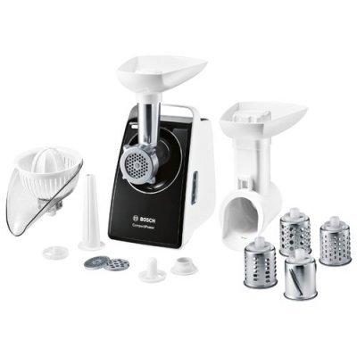 Мясорубка Bosch MFW3850B белый/черный (MFW3850B) насадка для кухонного комбайна bosch muz8cc2
