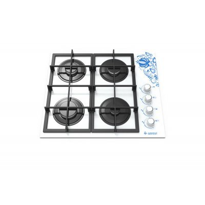 Газовая варочная панель Gefest СВН 2230 К18 белый (373703), арт: 267303 -  Газовые варочные панели Gefest