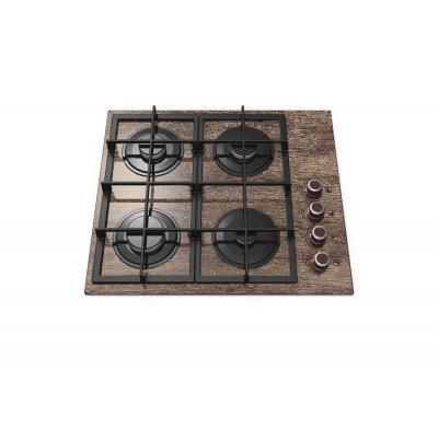 Газовая варочная панель Gefest СВН 2230 К27 коричневый (6040), арт: 267305 -  Газовые варочные панели Gefest
