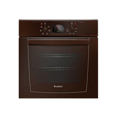 Электрический духовой шкаф Gefest ДА 602-02 К коричневый (ЭДВ ДА 602-02 К) гефест эдв да 602 02 н1м