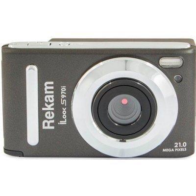 Цифровая фотокамера Rekam iLook S970i темно-серый (1108005141) видеорегистратор rekam f110