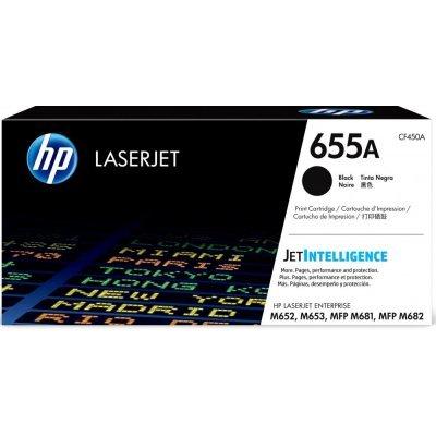 Тонер-картридж для лазерных аппаратов HP 655A для CLJ M652/ M653, MFP M681/ M682 (12 500 стр.), черный (CF450A) черный hp 655
