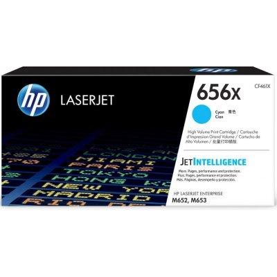все цены на  Тонер-картридж для лазерных аппаратов HP 656X для CLJ M652/ M653 (22 000 стр.), голубой (CF461X)  онлайн