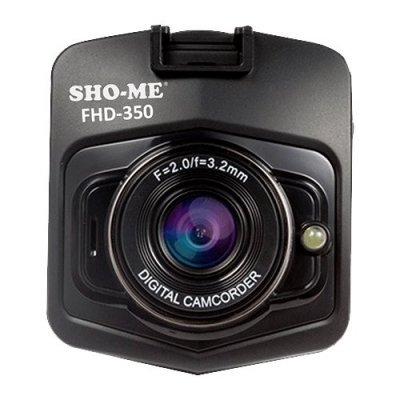 Видеорегистратор Sho-Me FHD-350 черный (FHD-350)