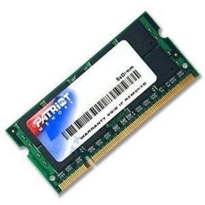 Модуль оперативной памяти ноутбука Patriot PSD22G8002S DDR2 2Gb (PSD22G8002S), арт: 267684 -  Модули оперативной памяти ноутбука Patriot