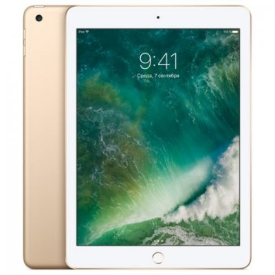 Планшетный ПК Apple iPad 128Gb Wi-Fi золотистый (MPGW2RU/A) планшет apple ipad pro 12 9 128gb wifi space gray ml0n2ru a