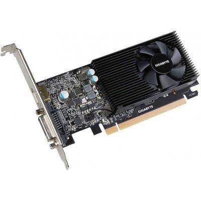 Видеокарта ПК Gigabyte PCI-E GV-N1030D5-2GL nVidia GeForce GT 1030 2048Mb 64bit GDDR5 1468/6008 DVIx1/HDMIx1/HDCP Ret (GV-N1030D5-2GL) видеокарта 2048mb gigabyte gt710 pci e gddr5 64bit hdmi dvi gv n710d5 2gl retail