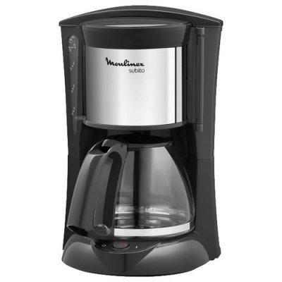 Кофеварка Moulinex FG360830 черный (7211001550) кофеварка polaris pcm0210 капельная черный салатовый