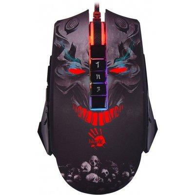 Мышь A4Tech A4 Bloody P85 черный (P85) мышь игровая a4 bloody v7 черная