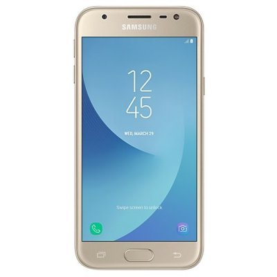 Смартфон Samsung Galaxy J3 (2017) 16Gb золотистый (SM-J330FZDDSER) цена 2017