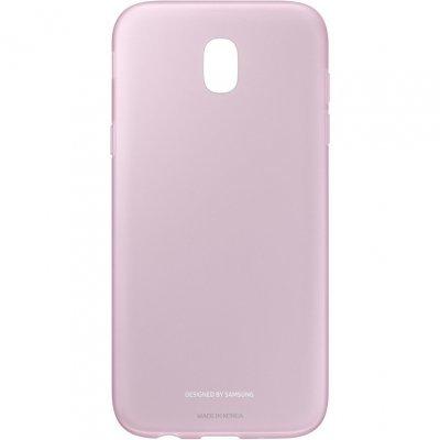 Чехол для смартфона Samsung Galaxy J5 (2017) розовый (EF-AJ530TPEGRU) (EF-AJ530TPEGRU) чехол клип кейс samsung alcantara cover для samsung galaxy s8 розовый [ef xg950apegru]