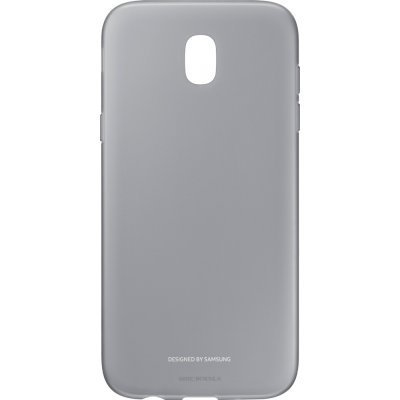 Чехол для смартфона Samsung Galaxy J5 (2017) черный (EF-AJ530TBEGRU) (EF-AJ530TBEGRU) чехол клип кейс samsung protective standing cover great для samsung galaxy note 8 темно синий [ef rn950cnegru]
