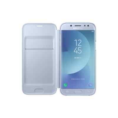 Чехол для смартфона Samsung Galaxy J5 (2017) голубой (EF-WJ530CLEGRU) (EF-WJ530CLEGRU) стоимость