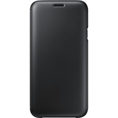 Чехол для смартфона Samsung Galaxy J7 (2017) черный (EF-WJ730CBEGRU) (EF-WJ730CBEGRU) чехол клип кейс samsung protective standing cover great для samsung galaxy note 8 темно синий [ef rn950cnegru]
