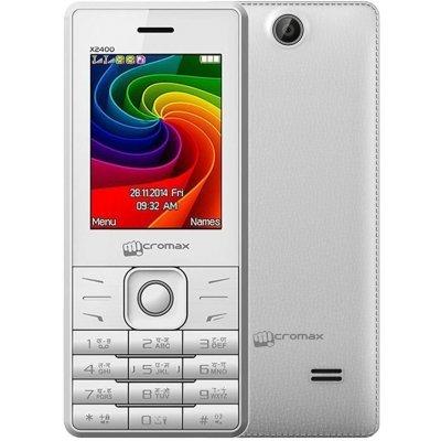 Мобильный телефон Micromax X2400 белый (X2400   White)