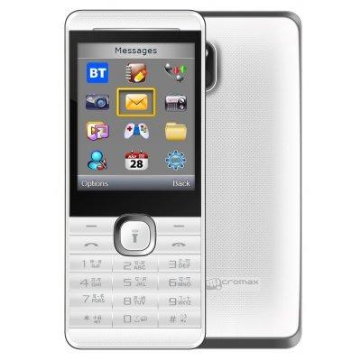 Мобильный телефон Micromax X249+ белый (X249+ White) мобильный телефон micromax x249 черный x249 black