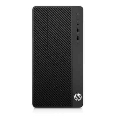Настольный ПК HP Bundle 290 G1 MT (1QN73EA) (1QN73EA) компьютер hp 290 g1 mt 1qn73ea i3 7100 3 9 4gb 500gb int intel hd 630 dvd rw kb m dos black монитор v214a