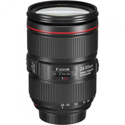 Объектив для фотоаппарата Canon EF IS II USM (1380C005) 24-105мм f/4L (1380C005) объектив canon ef 11 24 mm f 4 l usm