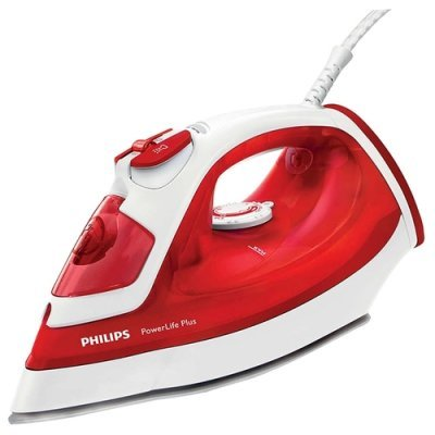 Утюг Philips GC2986/40 красный/белый (GC2986/40) электромясорубка philips hr2708 40