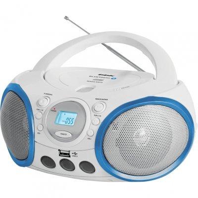 Аудиомагнитола BBK BX150BT белый/голубой (CD MP3 магнитола BBK BX150BT белый/голубой), арт: 268449 -  Аудиомагнитолы BBK