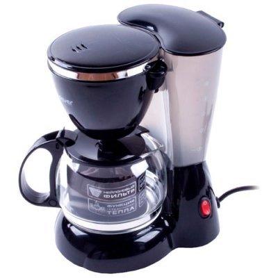 Кофеварка Endever Costa-1041 черный /пластик (80252) пылесосы endever пылесос