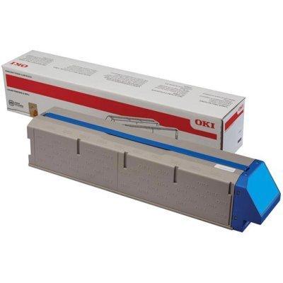 Тонер-картридж для лазерных аппаратов Oki C911/C931 24K голубой (45536415) new 45536520 45536519 45536518 45536517 toner cartridge chip for oki data c911 c931 c941 911 931 941 printer power refill reset