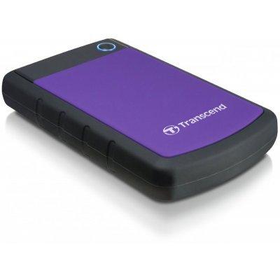 Внешний жесткий диск Transcend TS3TSJ25H3P 3TB Черный/Фиолетовый (TS3TSJ25H3P)