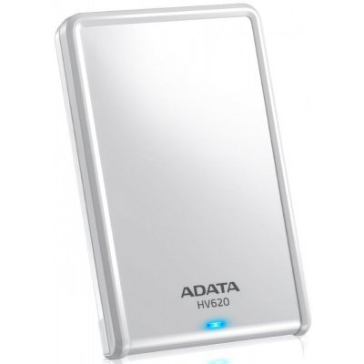 Внешний жесткий диск A-Data HV620 3TB белый (AHV620-3TU3-CWH) внешний жесткий диск lacie stet2000400 porsche design 2tb серебристый stet2000400