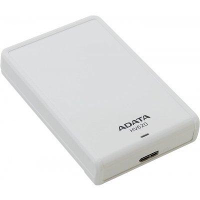 Внешний жесткий диск A-Data HV620 2TB белый (AHV620-2TU3-CWH)Внешние жесткие диски A-Data<br>Внешний жесткий диск 2TB A-DATA HV620, 2,5, USB 3.0, белый<br>