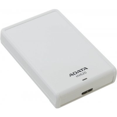 Внешний жесткий диск A-Data HV620 2TB белый (AHV620-2TU3-CWH)