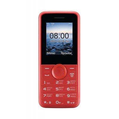 Мобильный телефон Philips E106 красный (867000143209) карты памяти